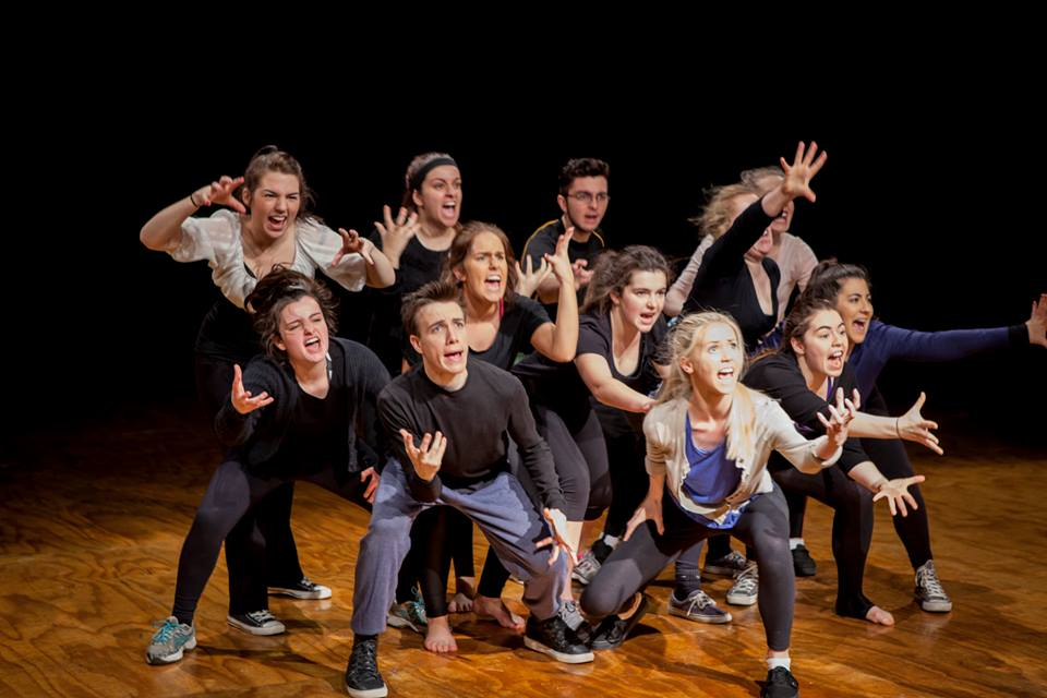 Music Theatre Intensive Studio at Victorian College of the Arts. Photographer - Sav Schulman